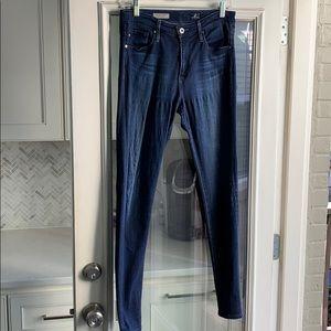 AG Farrah Highrise skinny jeans